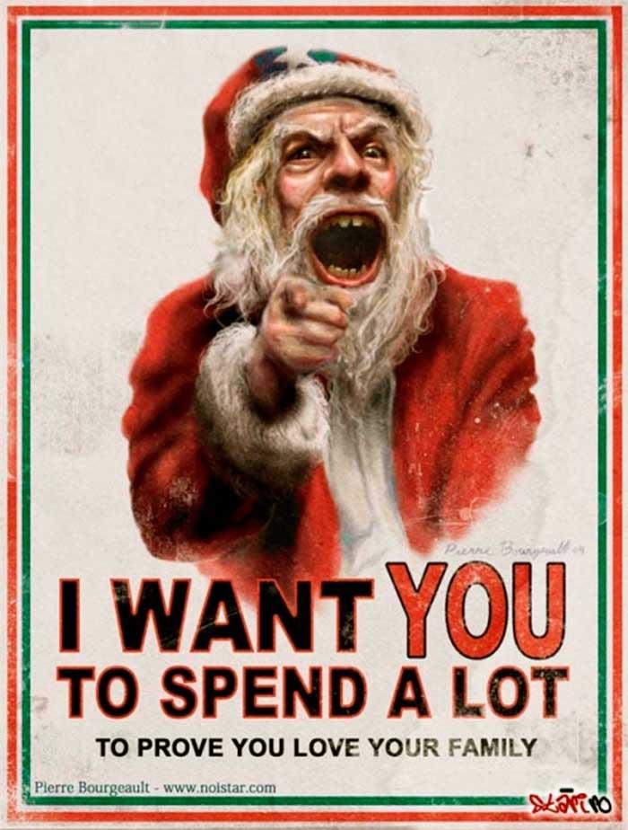 La publicidad agresiva navideña asocia estados emocionales a la compra